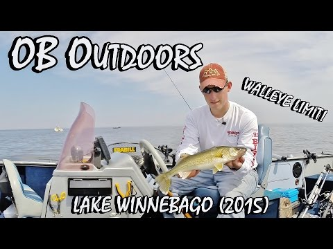 "Walleye Fishing Lake Winnebago - Episode 2.5 ""One-Lining a Limit"""