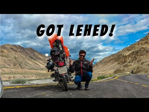 Royal Enfield trip to Ladakh | Sarchu to Leh | GOT LEHED!