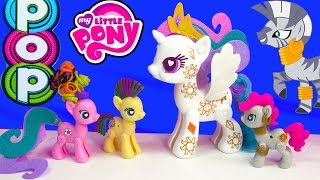 MLP POP My Little Pony Pop Cutie Mark Magic Princess Celestia Zecora  Kit Playset Toy Unboxing