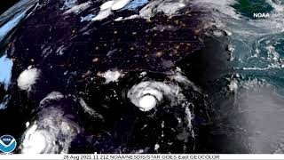 Hurricane Ida closes to the U.S. Gulf Coast thumbnail