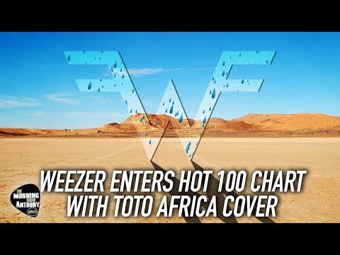 Weezer's Toto Africa Cover Gets Them On Billboard Hot 100 Chart!