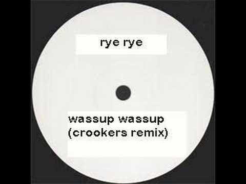 Rye rye  Wassup Wassup Crookers Remix