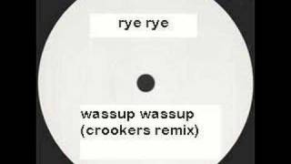 Play Wassup (Crookers Remix)