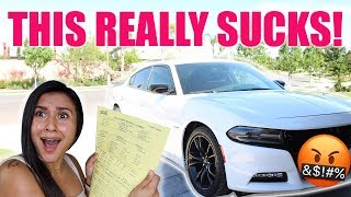 MY DODGE CHARGER DAMAGED!! (THOUSANDS OF $$$ TO REPAIR!!) **MUST SEE