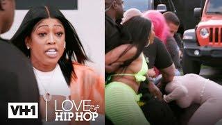 Nikki Natural Disrespects Trina & Gets Jumped!   Love & Hip Hop: Miami