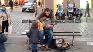 Музыканты на улицах вечернего Парижа.(Октябрь 2014 г., 2014-10-20T19:35:36.000Z)