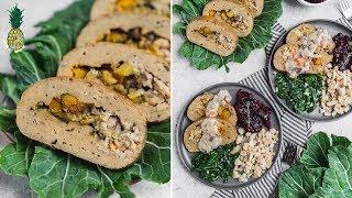Homemade Vegan Holiday Roast