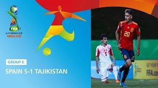 Spain v Tajikistan Highlights FIFA U17 World Cup 2019