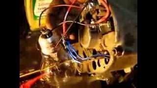 Как запустить генератор  без аккумулятора (самовозбуждение)
