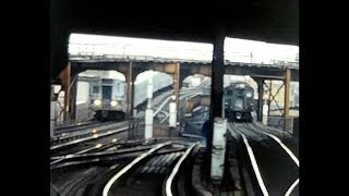 New York Subway 1976, 1984, 1990  Graffiti and all, COMPLETE VERSION Part silent movie