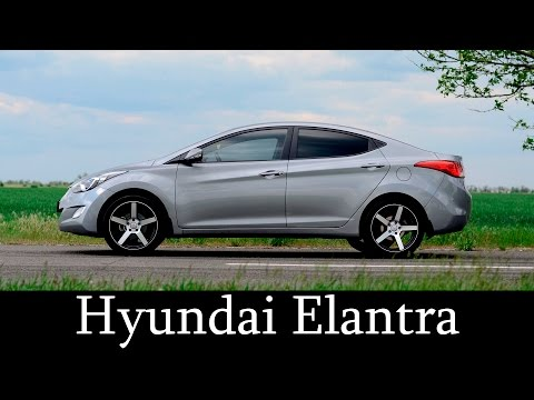 Hyundai Elantra 1.8 vossen cv3 Тест Драйв H Auto