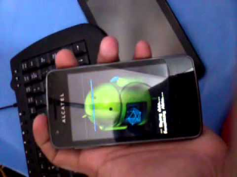 Remove password, pattern lock, gmail account in your Alcatel One