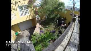 Garden Rehab. Day 1. Timelapse