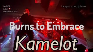 Kamelot - Burns to Embrace @Marquee, Calgary, Canada - Sep 29, 2019 - 4K LIVE