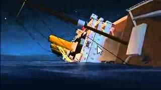 Virtual sailor sinking britannic