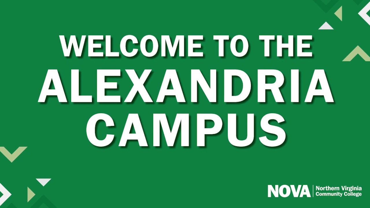 Nova Alexandria Campus Map Alexandria Campus :: Northern Virginia Community College