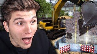 Ich kauf mir einen Bagger ✪ Bauarbeiter Simulator