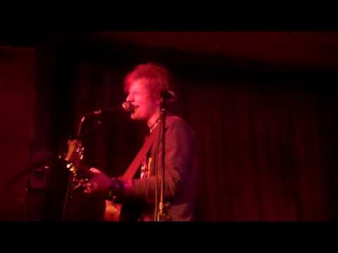 Ed Sheeran - Small Bump (first performance) @ The Green Note, Camden 02/03/11