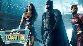 JUSTICE LEAGUE FINAL NYCC TRAILER REACTION - Double Toasted