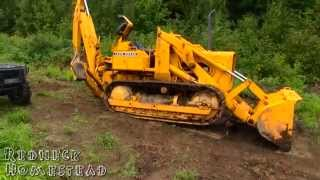 John Deere 450 Crawler Loader / Backhoe Review