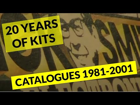 20 years of kits in Dick Smith Electronics catalogues: 1981 - 2001