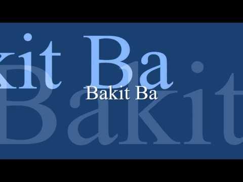 Playlist Of Bakit Ba Siakol Guitar Cover With Lyrics Chords