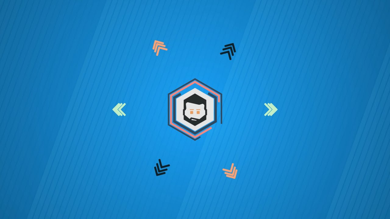 Simple 2d Intro Template