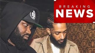 Nipsey's Bodyguard Leaves This CHILLING Message On Instagram!!