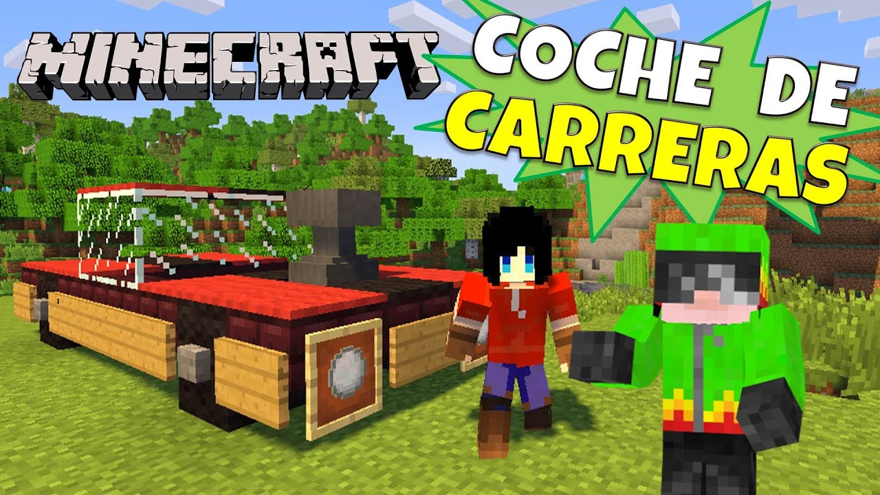 Minecraft coche de carreras super tutorial sin mods for Casa moderna rey zerch
