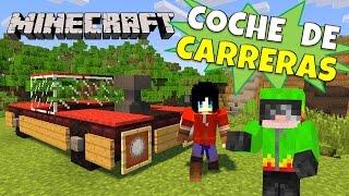 Minecraft: Coche de carreras, Super Tutorial, Sin Mods.