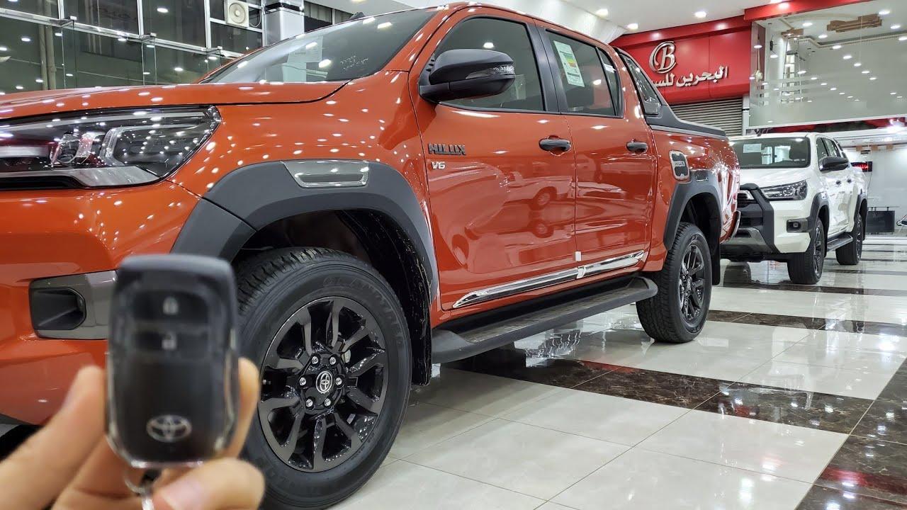 تويوتا هايلوكس 2021 الوان ملفتة للنظر ، البحرين للسيارات