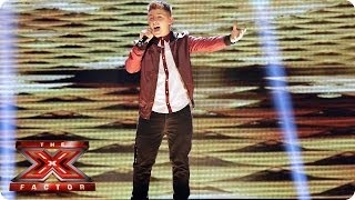Nicholas McDonald sings Greatest Day by Take That - Live Week 8 - The X Factor 2013