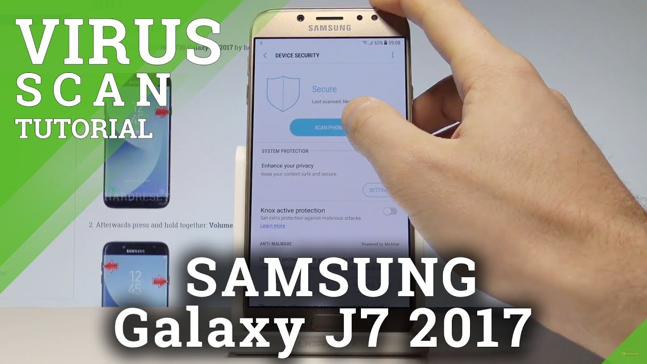 How to Perform Virus Scan in SAMSUNG Galaxy J7 2017 |HardReset Info