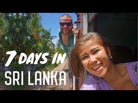 7 Days in Sri Lanka | Trincomalee - Yala - Unawatuna