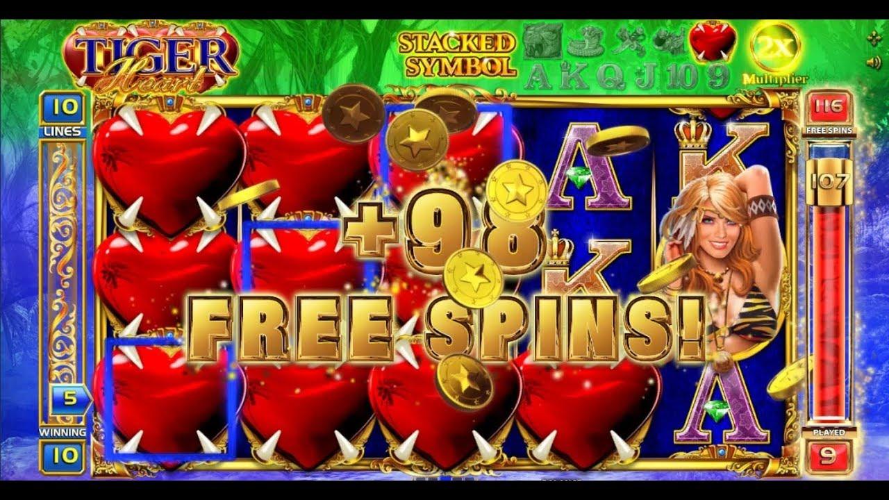 Tiger Heart 150 Spins Ultra Rare Mega Win Fortunejack Online