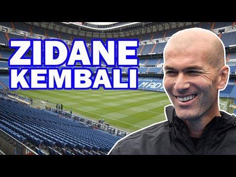 Zidane kembali latih real madrid!!.. alasanya bikin prnggemar berharap