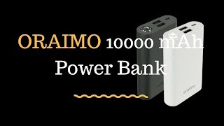 Oraimo Powerbank for Mobile 10000 mAh full specifications
