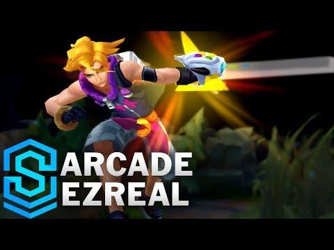Arcade Ezreal (2018) Skin Spotlight - Pre-Release - League of Legends