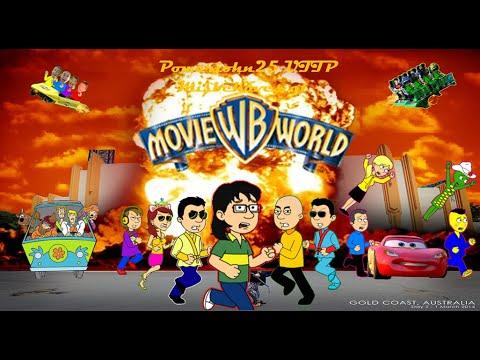 Powerjohn25 UTTP Misbehaves at Warner Bros Movie World (2016)