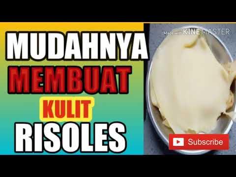 MEMBUAT KULIT RISOLES