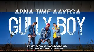 Apna Time Aayega | Gullyboy | Dance Choreography | Harry Satwani Choregraphy ft.Thunder Dance Crew