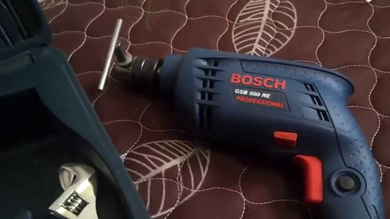 bosch gsb 500 re kit professional power and hand tool kit review