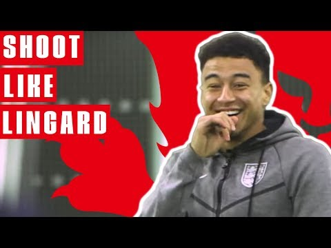 How To Shoot Like Lingard | Jesse Lingard Goal vs Panama | England