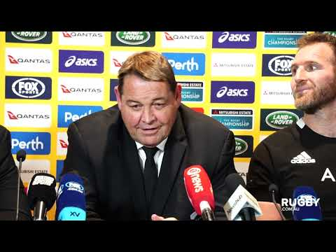 Bledisloe Cup 2019: All Blacks press conference, Perth