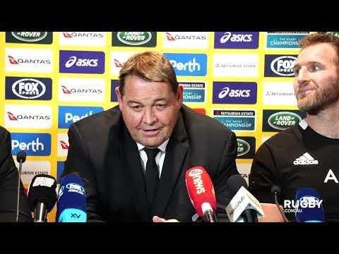 Bledisloe Cup 2019: All Blacks press conference, Perth