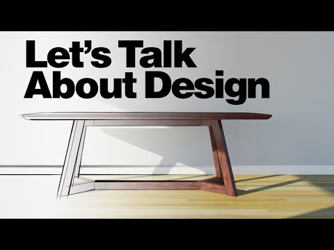 Great Design Crit & Modifications for a Dining Table