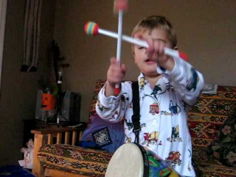 Jackson the little bongo drummer boy