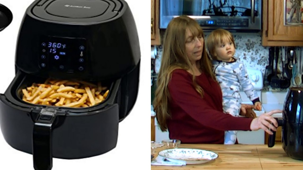 Sweet Potato Fries Avalon Bay Air Fryer Review The Hillbilly Kitchen
