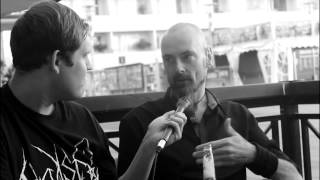 "My Dying Bride Interview Aaron Stainthorpe About ""Feel The Misery"" 2015"