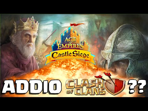 AGE OF EMPIRES CASTLE SIEGE è L'ANTI CLASH OF CLANS?